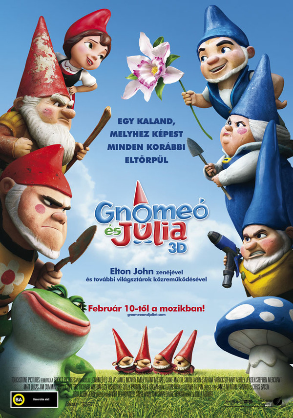 Gnómeó és Júlia (Gnomeo & Juliet) (2011)