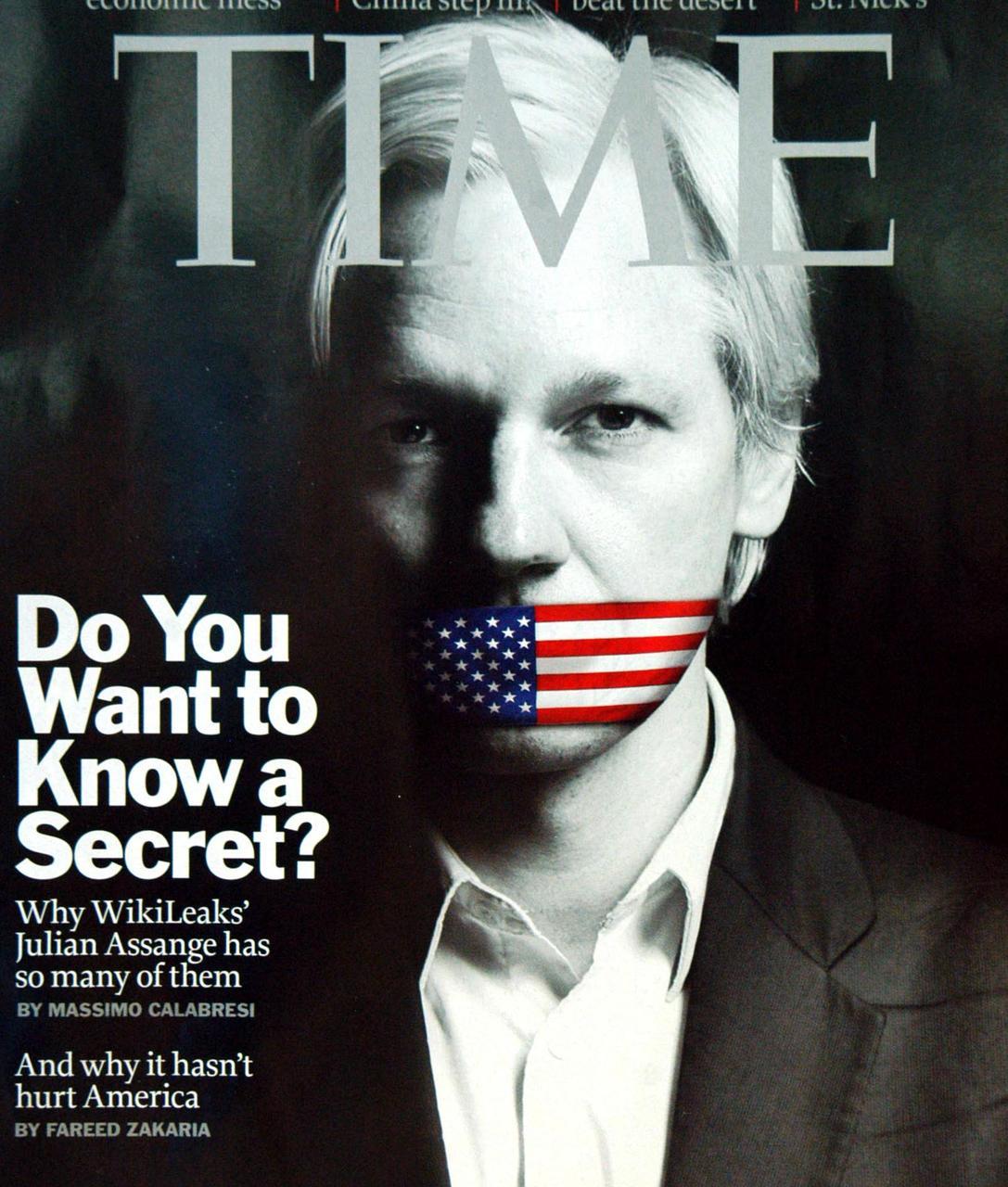 Wikileaks,Julian Assange,2011